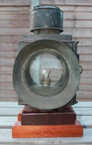 An original headlamp donated by Mike Sharman - © Adrian Gray